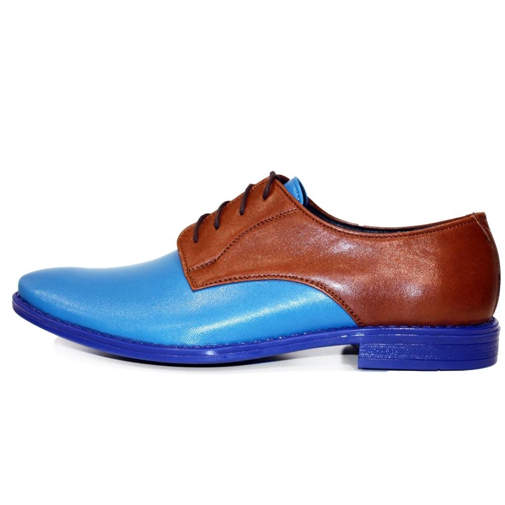 PeppeShoes Modello Lorenzo Cuero Italiano Hecho A Mano